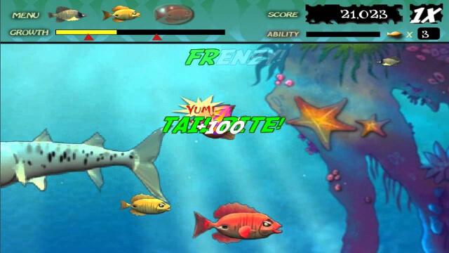 chơi game cá lớn nuốt cá bé